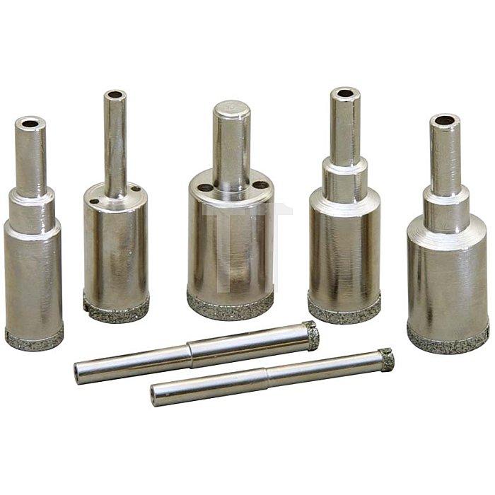 6mm Galv. Bohrkrone Zyl. Schaft EC-140