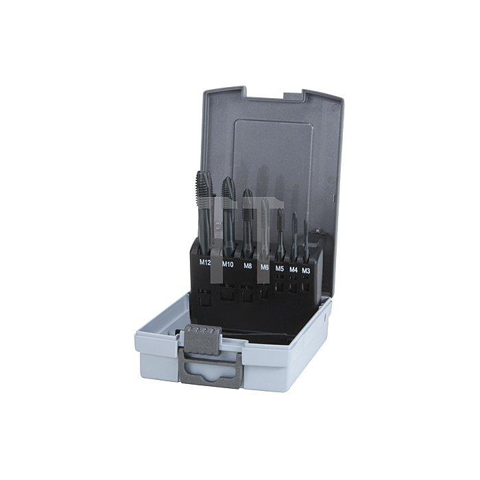 7-teiliger Maschinengewindebohrer-Satz HSS Co 5 VAP Form B