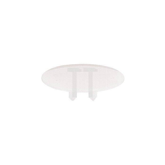 Abdeckkappe 13117 für Verbinder Rastex 25 Kunststoff weiss