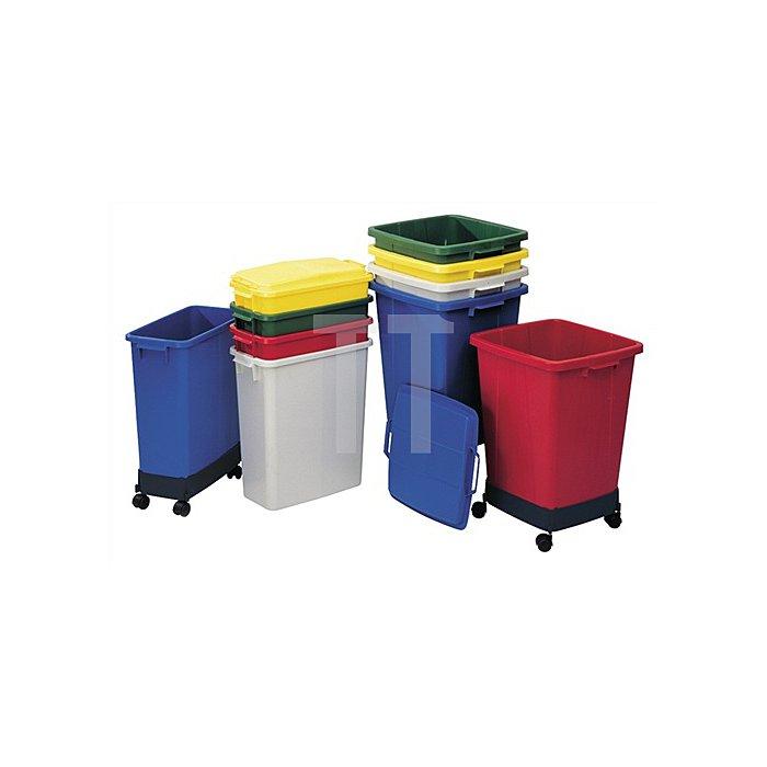 Abfall-/Wertstoffsammler 90l grau Ku.L510xB485xH600mm