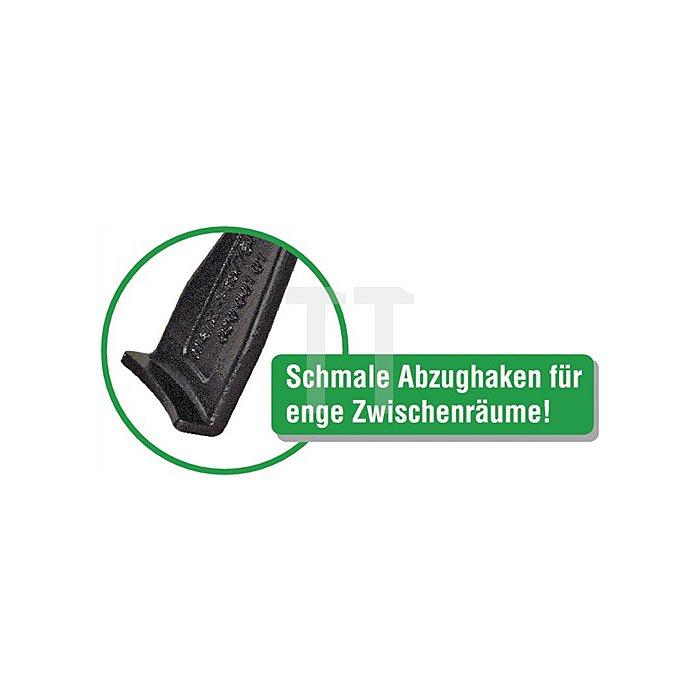 Abziehersatz 2/3armig W.90mm schlank KUKKO Spann-T.100/200