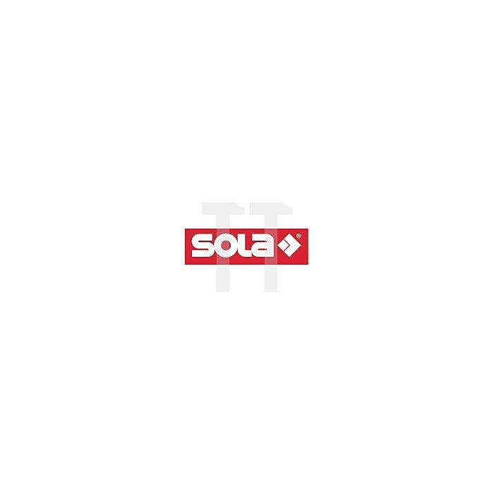Abziehlatte AL 1007 L.500cm Alu-Rohrprofil SOLA