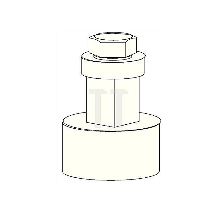 Achsverlängerung zu CL-Gestänge Achsverlängerung/Kupplungsstück verz.