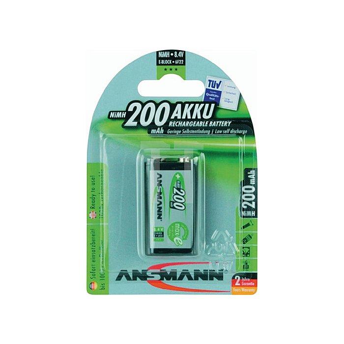 Akkuzelle E-Block MAX E 200mAh 8,4V ANSMANN