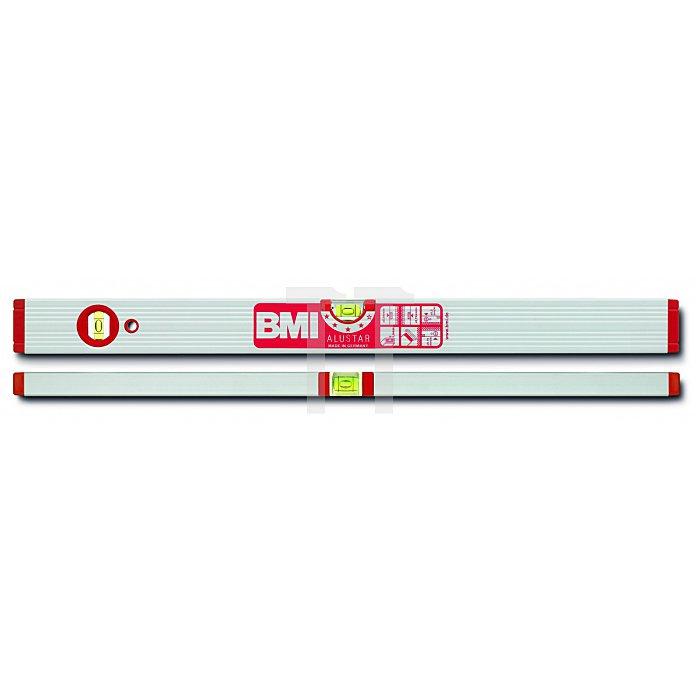 BMI Alu Wasserwaage Alustar 80 cm, Magn. 691080M