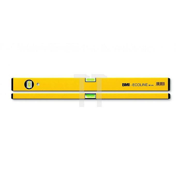 BMI Alu Wasserwaage Ecoline 120 cm 689120P-gelbECO