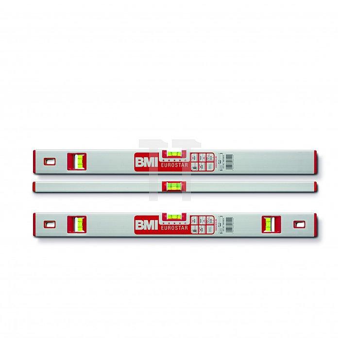 BMI Alu Wasserwaage Eurostar 180 cm, Magn. 690180EM