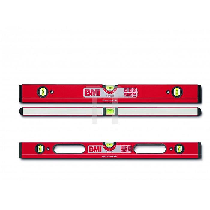 BMI Alu Wasserwaage Robust 100 cm, 2 DG 698100D