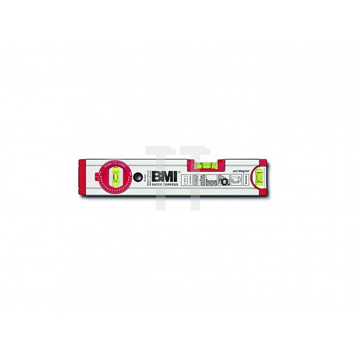 BMI Alu Wasserwaage Ultrasonic 25 cm, Magn. 692025TWM