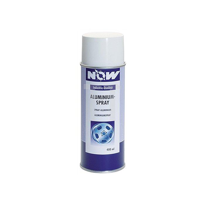 Aluminium-Spray 400ml NOW abriebfest +300 Grad C