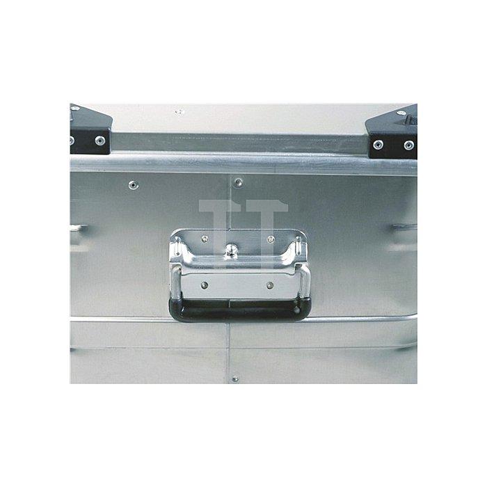 Aluminiumbox 240l 782x585x622mm m.Gummidichtung 10,0kg m.Stapelecken