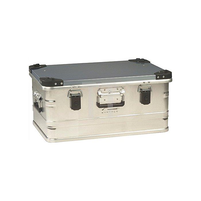 Aluminiumbox 47l 582x385x277mm m.Gummidichtung 4,5kg m.Stapelecken