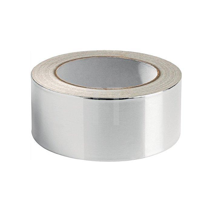 Aluminiumklebenband 511 DIN 4102 B1 Länge 50m Breite 50mm Alu-Folie
