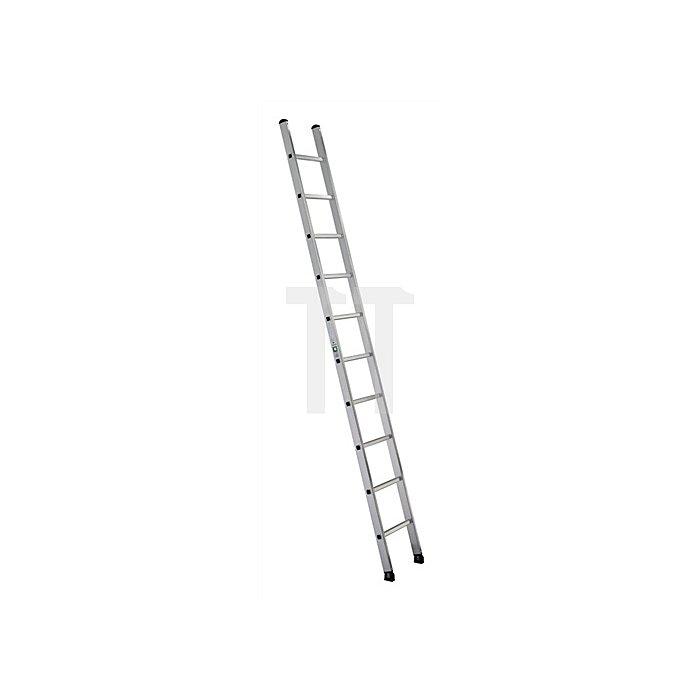 Anlegeleiter Alu.14 Sprossen Leiterlänge 4170mm Arbeits-H.bis ca.5300mm