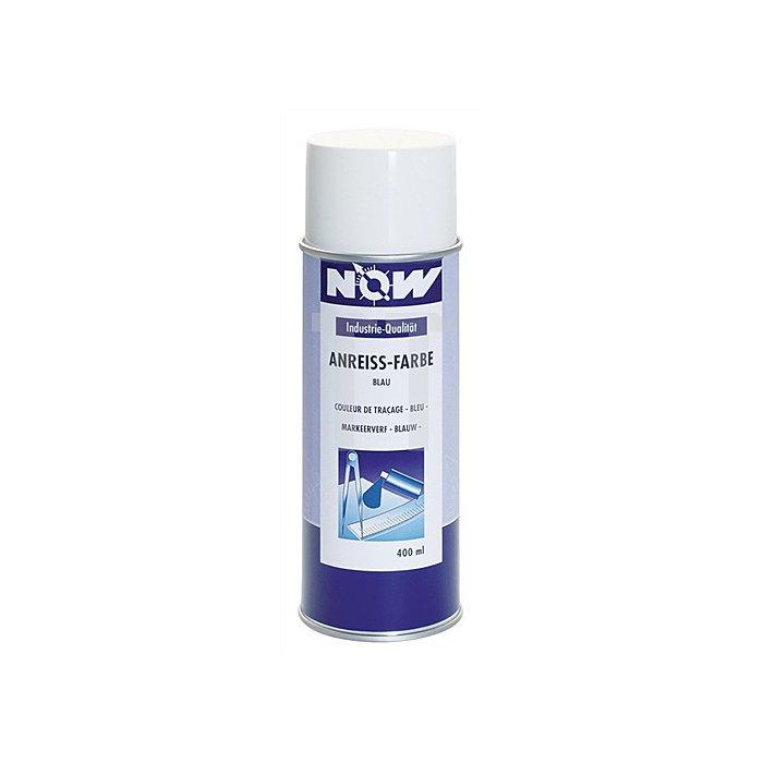 Anreißfarbe blau 400ml Spray o.Blei/Cadmium NOW wischfest