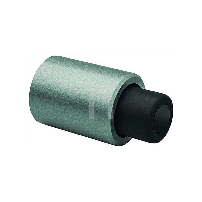 Anschlagpuffer Leichtmetall silber lack. für Türen bis 200kg