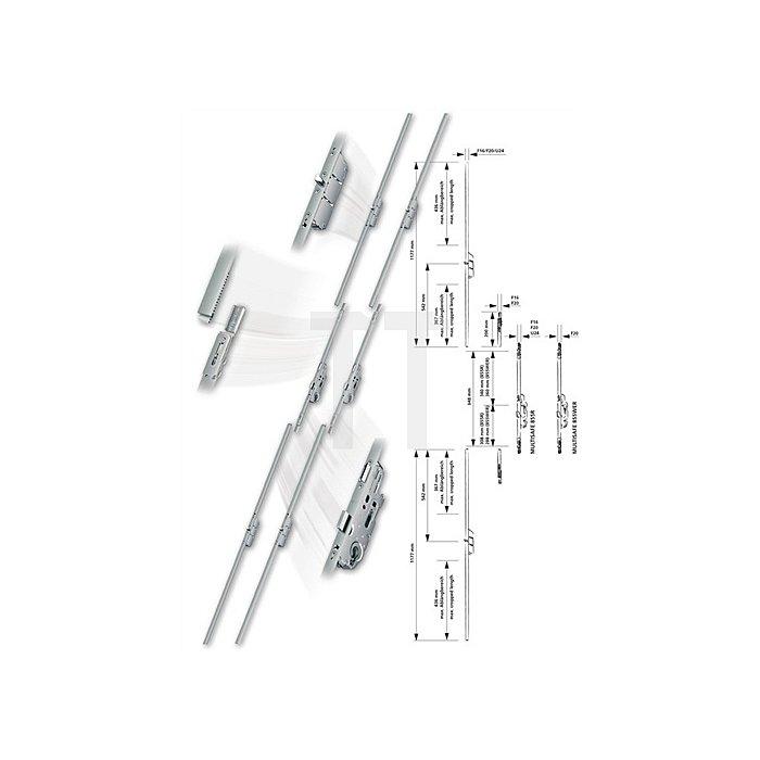 Anschlussstulp Multisafe MA U-Stulp 24mm 1 Bolzenriegel ablängbar Länge 1177mm