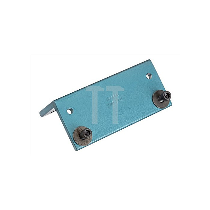 Anschraubplatte z.Schraubstockbefestig. blau einbrennlackiert f.Ringbieger 285
