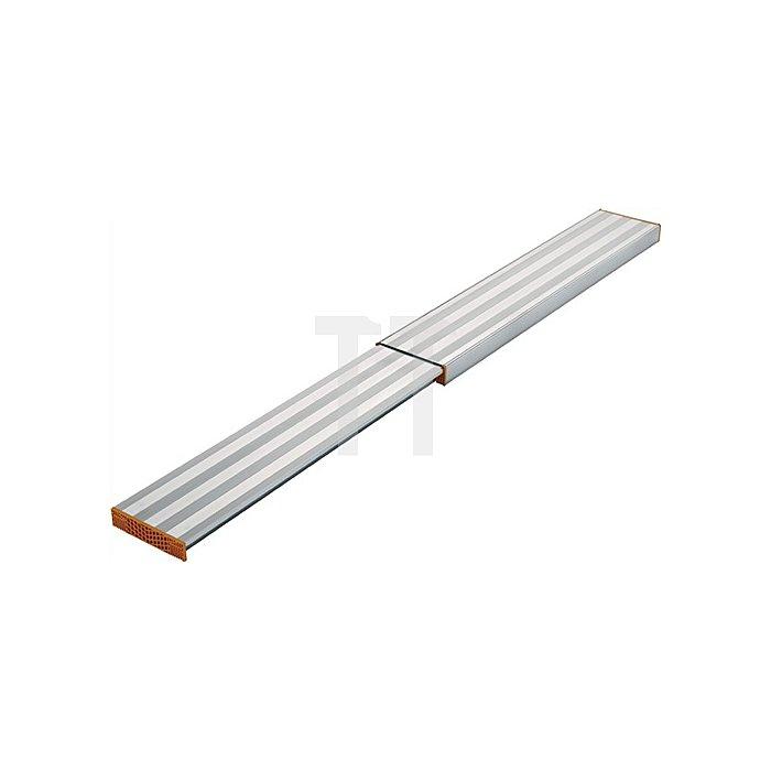 Arbeitsbohle Aluminium ausziehbar von 1,92-3,5m