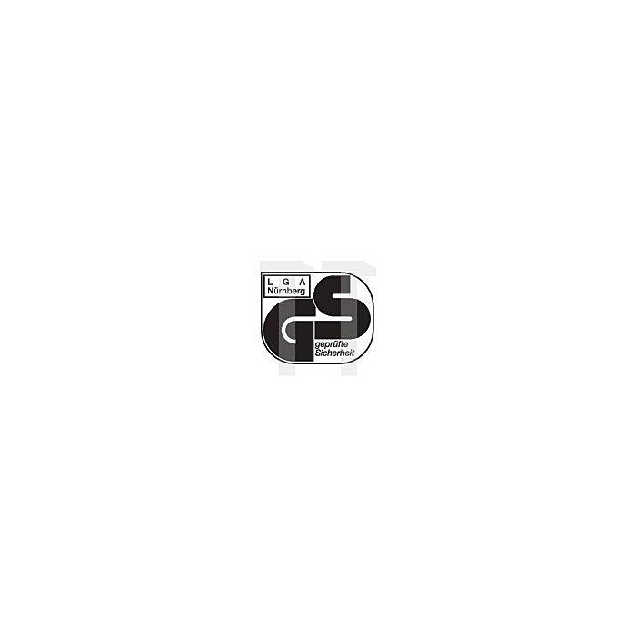 Arbeitsdrehstuhl Highline m.Gleitern u.Fußring Integralschaum H.450-600mm
