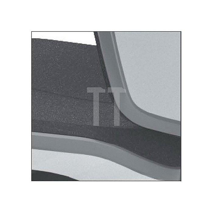 Arbeitsdrehstuhl Neon m. Gleiter/Aufstiegshilfe grau Sitz-H590-870 Permanentk.