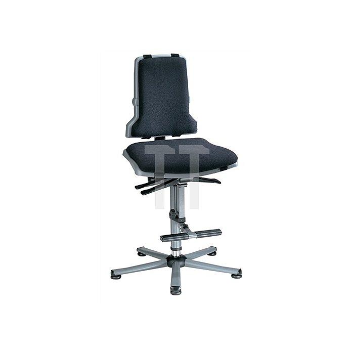 Arbeitsdrehstuhl Sintec B m.Gleitern u.Aufstiegshilfe Sitz-H.580-850mm BIMOS