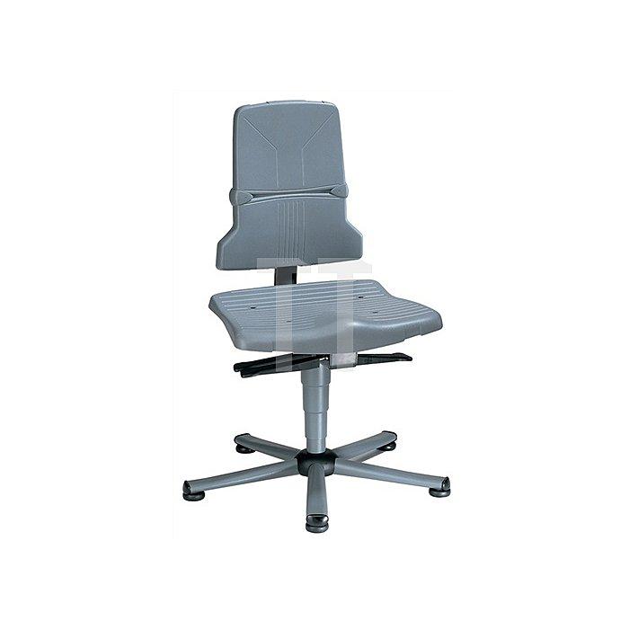 Arbeitsdrehstuhl Sintec B m.Gleitern u.Sitzneigung Sitz-H.430-580mm BIMOS