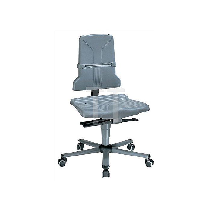 Arbeitsdrehstuhl Sintec B m.Rollen u.Sitzneigung Sitz-H.430-580mm BIMOS