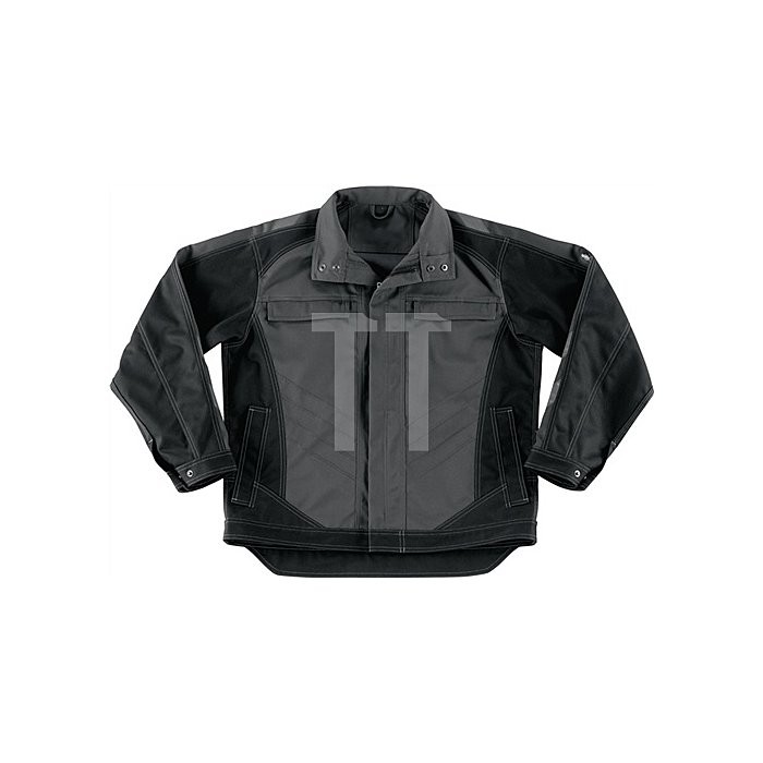 Arbeitsjacke Fulda Gr.XL dunkelanthrazit/schwarz 65%PES/35%BW