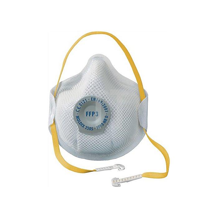 Atemschutzmaske 2505 FFP3NRD b.30xAGW-Wert MOLDEX EN149:2001+A1:2009