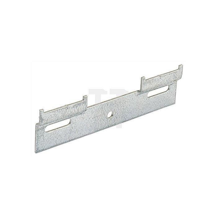 Aufhängeschiene 25099 Länge 130mm Stahl verzinkt Nutzlast 1300-1500 N/Schrank