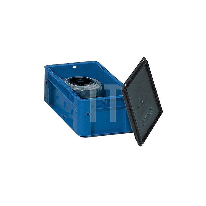Auflagedeckel schwarz L.600xB.400mm 4St./VE