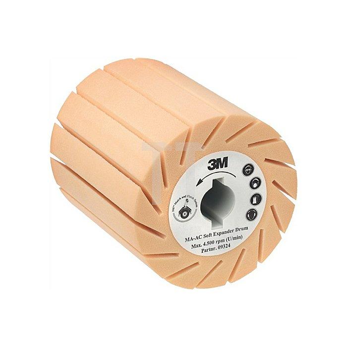 Aufnahmewalze MA-AC 90x100x19mm hart