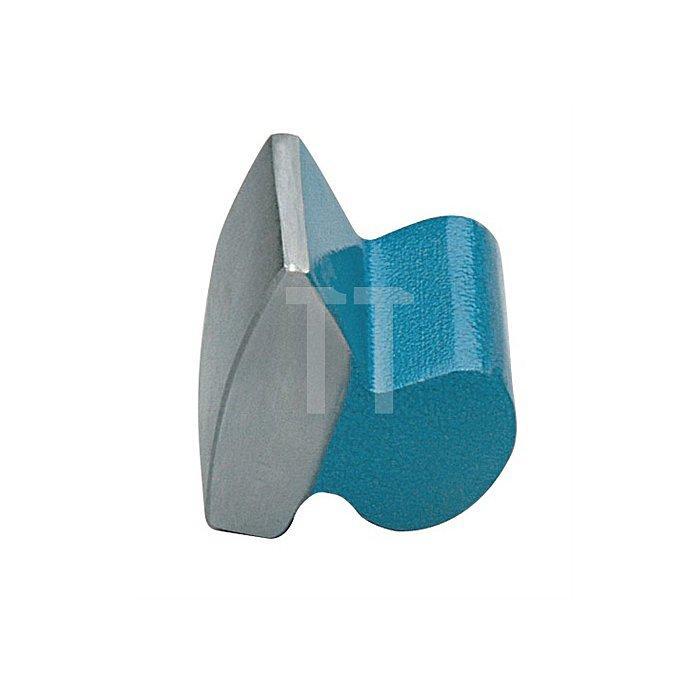Ausbeulamboss 1150g 72x55x63mm lackiert Vergütungsstahl nach DIN/EN10083
