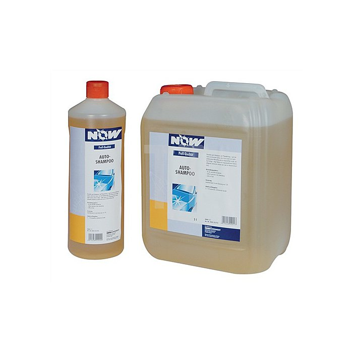Autoshampoo 1l Flasche Dosierung 1:20 NOW
