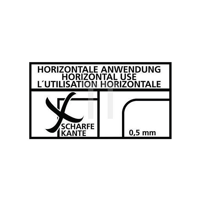 Bandfalldämpfer L.1500mm EN354 EN 355 m.Rohrhaken-W.65mm MAS Gurtband-B.27mm