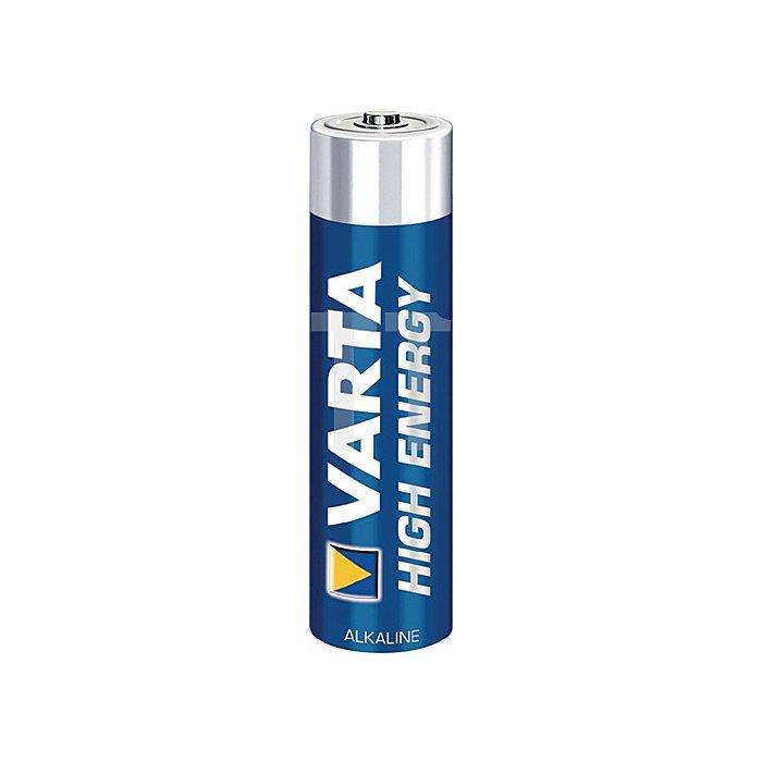 Batterie High Energy 1,5V Microzelle 1240mAh V-ALK04903 VARTA 4St./Blister