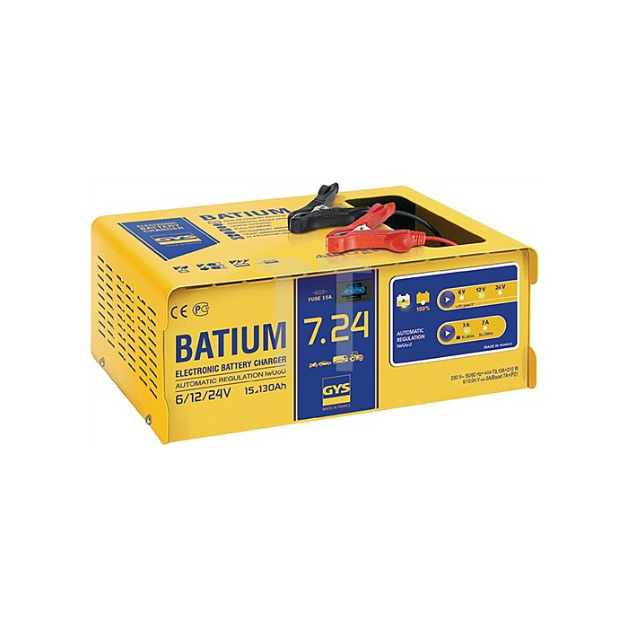 Batterieladegerät BATIUM 7-24 6/12/24V 15-130Ah/Ladestrom 11/3-7A/max.210W/230V