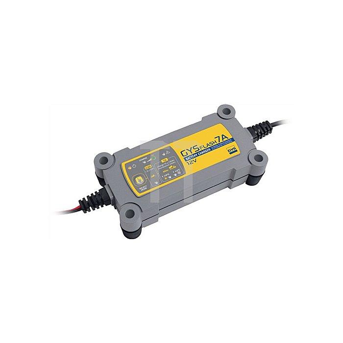 Batterieladegerät GYSFLASH 7A 12V 1,2-130Ah (1,2-230Ah) / Ladestrom 0,8-5,0A