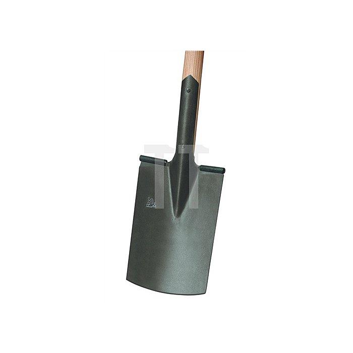 Bauspaten LÖWE Gärtner Form Blattmaß 285x185/180mm Größe 2