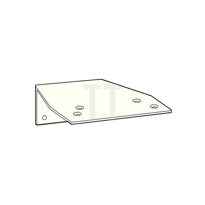 Befestigungswinkel zu TS 73 V/TS 83 silberfarbig f.Parallelarmmontage