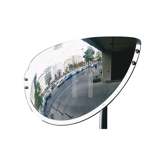 Beobachtungsspiegel f.innen u.außen H.300xB.600xT.100mm 180Grad Blick