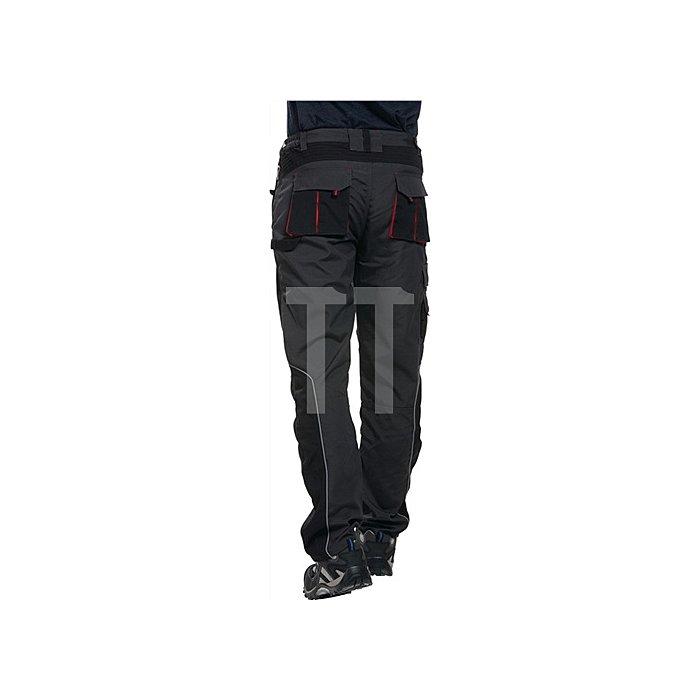 Berufshose Gr.56 dunkelgrau/schwarz 65% Polyester 35% Baumwolle (270gm²)