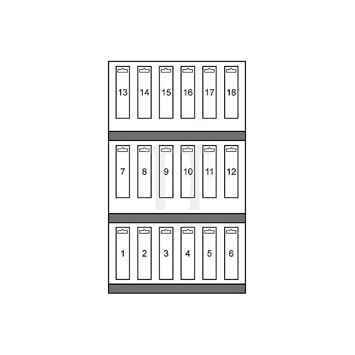Betonbohrer-Modul mit Hartmetallspitze und Zylinderschaft ISO 5468 - DIN 8039 in SB-Tasche
