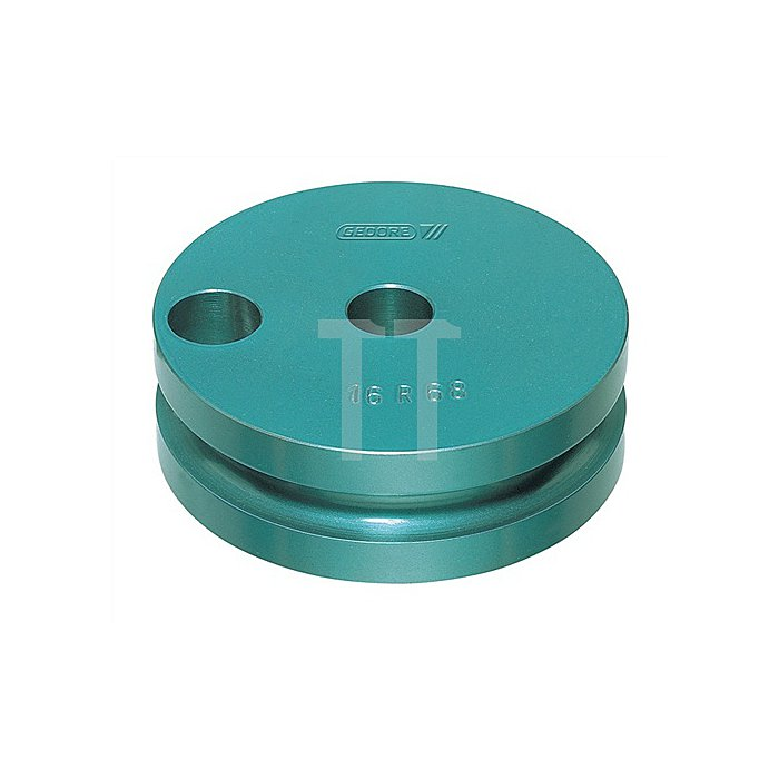 Biegesegment f.Elektroinstallationsrohre M16 Gleitschiene blau einbrennlackiert