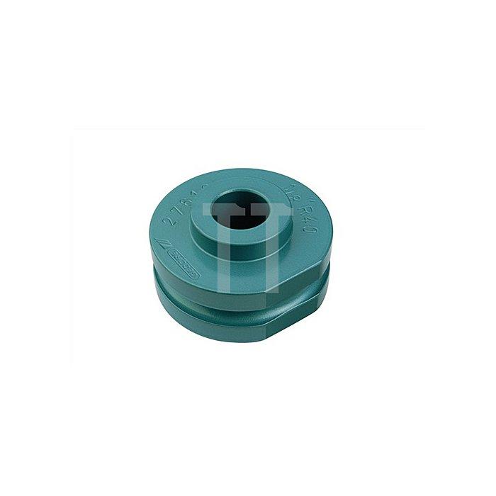 Biegesegment f.Gas- u.Wasserrohre 1/8Zoll blau einbrennlackiert r=40mm b.180Grad