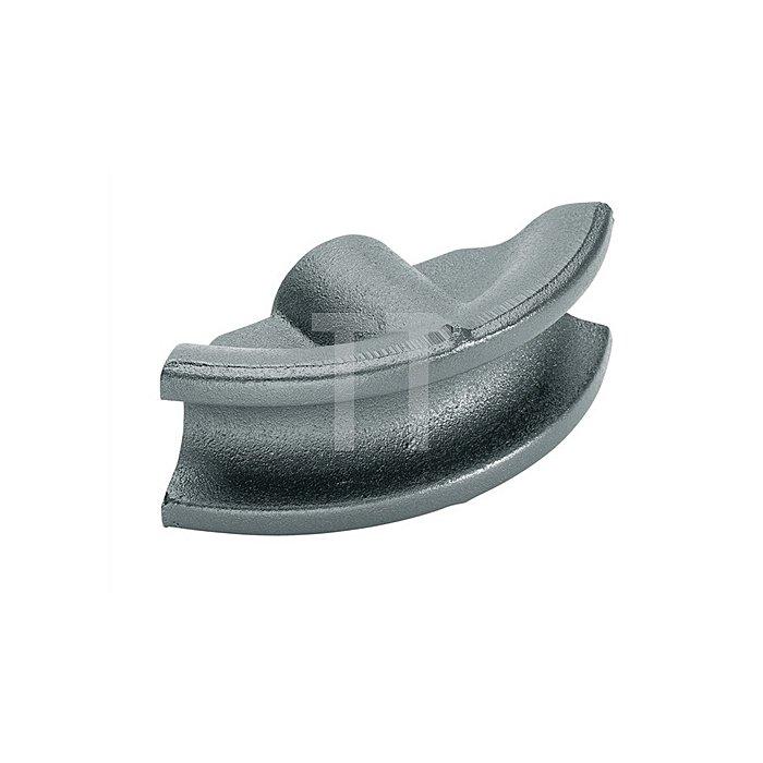 Biegesegment f.Gas- u.Wasserrohre 3/8Zoll Grauguß schwarz lack. r=45mm b.90Grad