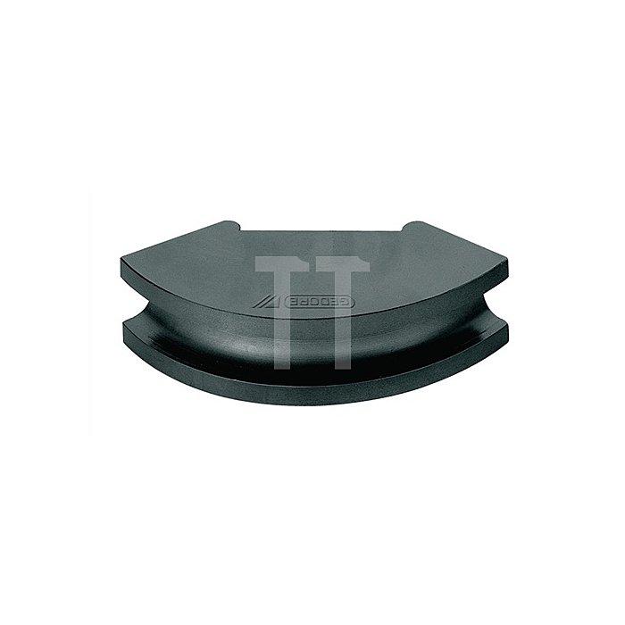 Biegesegment f.Gas- u.Wasserrohre 3Zoll a.Stahl, phoshatiert r=380mm b.90Grad