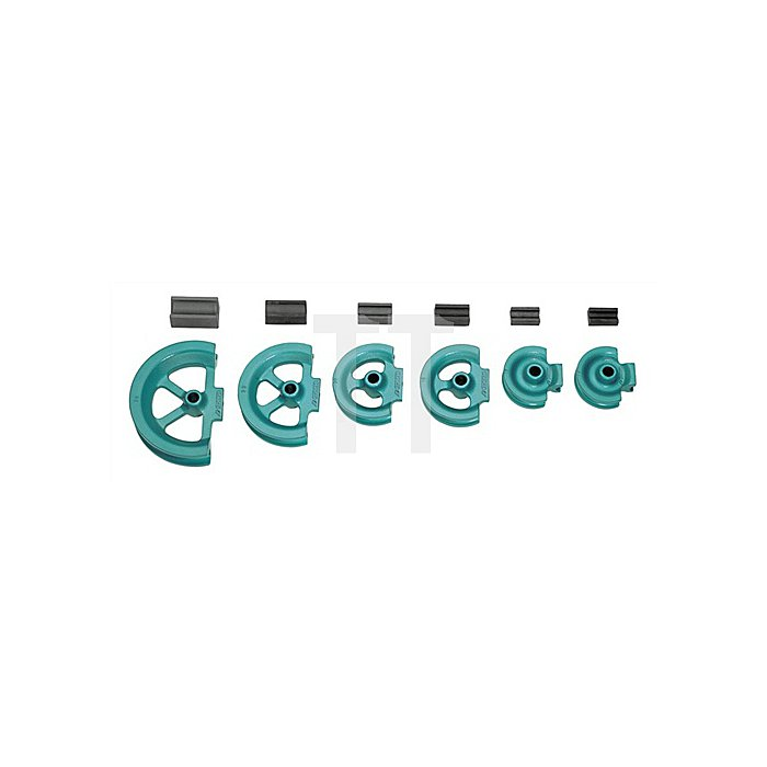 Biegesegment f.Rohre 18mm m.Gleitschiene r=65mm bis 180Grad