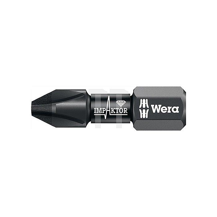 Bit Impaktor PH2 L.25mm 6KT 1/4Zoll diamantbeschichtet 851/1 IMP DC DIN3126-D6,3